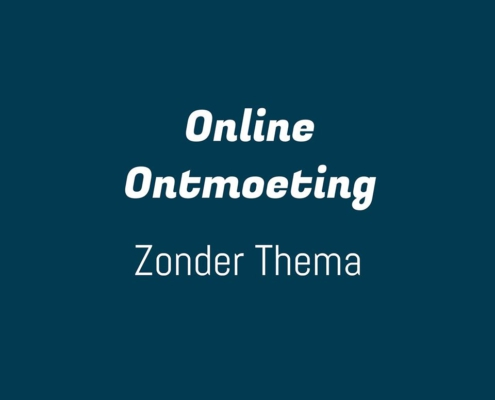 online meeting zonder thema